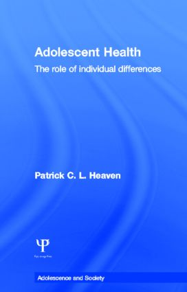 Adolescent Health: The Role of Individual Differences book cover