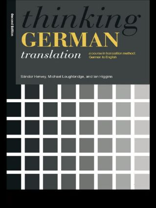 Preliminaries to translation as a product