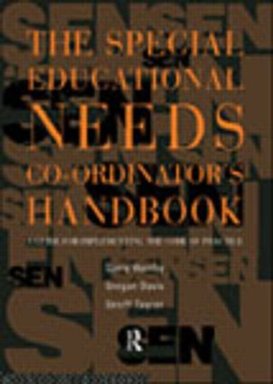 The Special Educational Needs Co-ordinator's Handbook: A Guide for Implementing the Code of Practice (e-Book) book cover