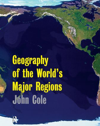 Geography of the World's Major Regions: 1st Edition (Paperback) book cover