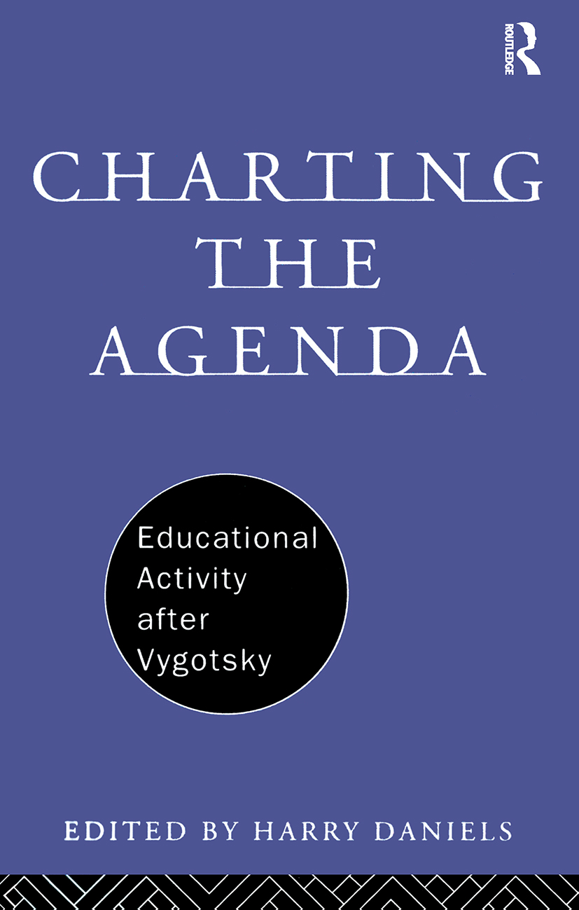 Charting the Agenda: Educational Activity after Vygotsky (Paperback) book cover