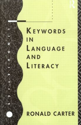 Keywords in Language and Literacy (Paperback) book cover