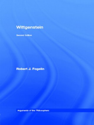 Wittgenstein: 2nd Edition (Paperback) book cover
