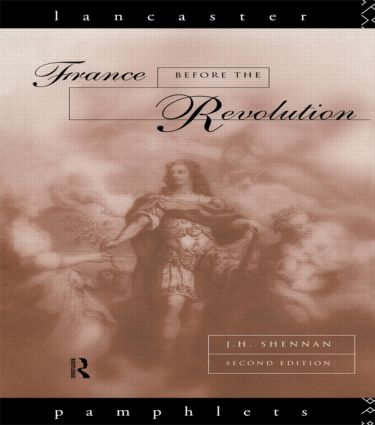 France Before the Revolution book cover