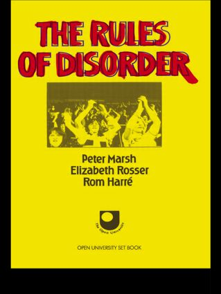 The Rules of Disorder: 1st Edition (Paperback) book cover