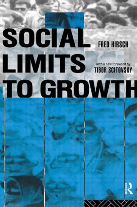 Social Limits to Growth: 2nd Edition (Paperback) book cover