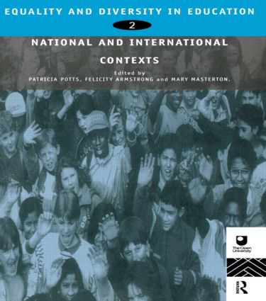 Equality and Diversity in Education 2: National and International Contexts for Practice and Research, 1st Edition (Paperback) book cover