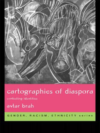 Cartographies of Diaspora: Contesting Identities (Paperback) book cover