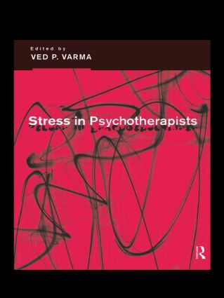 Stress in Psychotherapists (Paperback) book cover