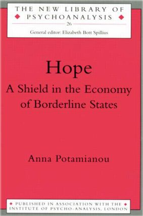 Hope: A Shield in the Economy of Borderline States (Paperback) book cover