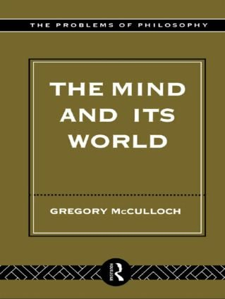 The Mind and its World (Paperback) book cover