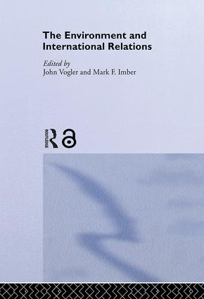 The Environment and International Relations: 1st Edition (Paperback) book cover