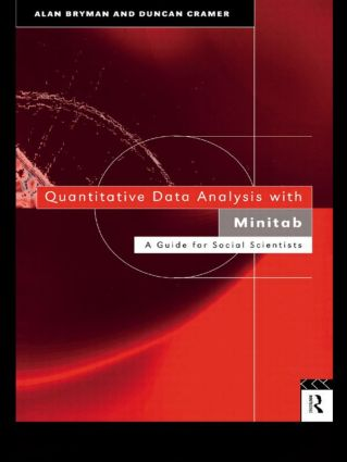 Quantitative Data Analysis with Minitab: A Guide for Social Scientists (Paperback) book cover