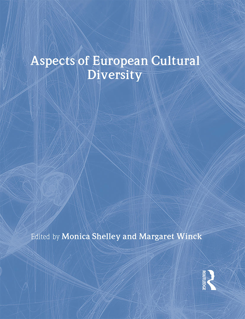 Aspects of European Cultural Diversity: 1st Edition (Hardback) book cover