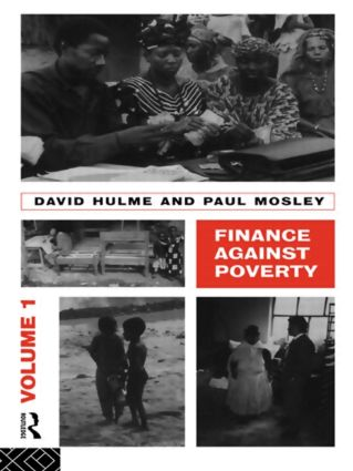 Finance Against Poverty: Volume 1: 1st Edition (Paperback) book cover