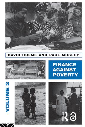 Finance Against Poverty: Volume 2: Country Case Studies, 1st Edition (Paperback) book cover