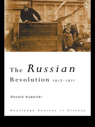 The Russian Revolution: 1917-1921 book cover