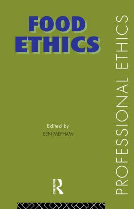 Food Ethics book cover