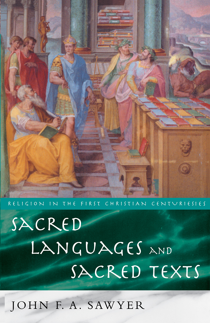 Sacred Languages and Sacred Texts: 1st Edition (Paperback) book cover