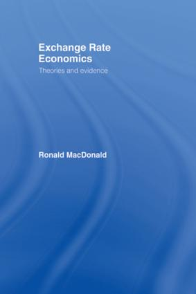 Exchange Rate Economics: Theories and Evidence, 2nd Edition (Paperback) book cover