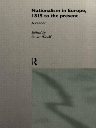 Nationalism in Europe: From 1815 to the Present, 1st Edition (Paperback) book cover