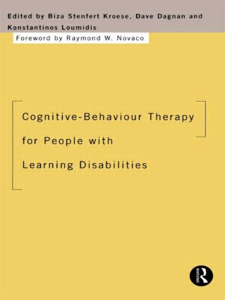 Cognitive-Behaviour Therapy for People with Learning Disabilities (Paperback) book cover
