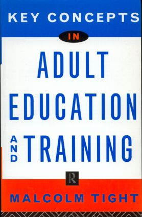 Key Concepts in Adult Education and Training (Hardback) book cover