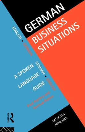 German Business Situations (Paperback) book cover