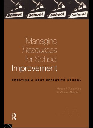 Managing Resources for School Improvement (Paperback) book cover