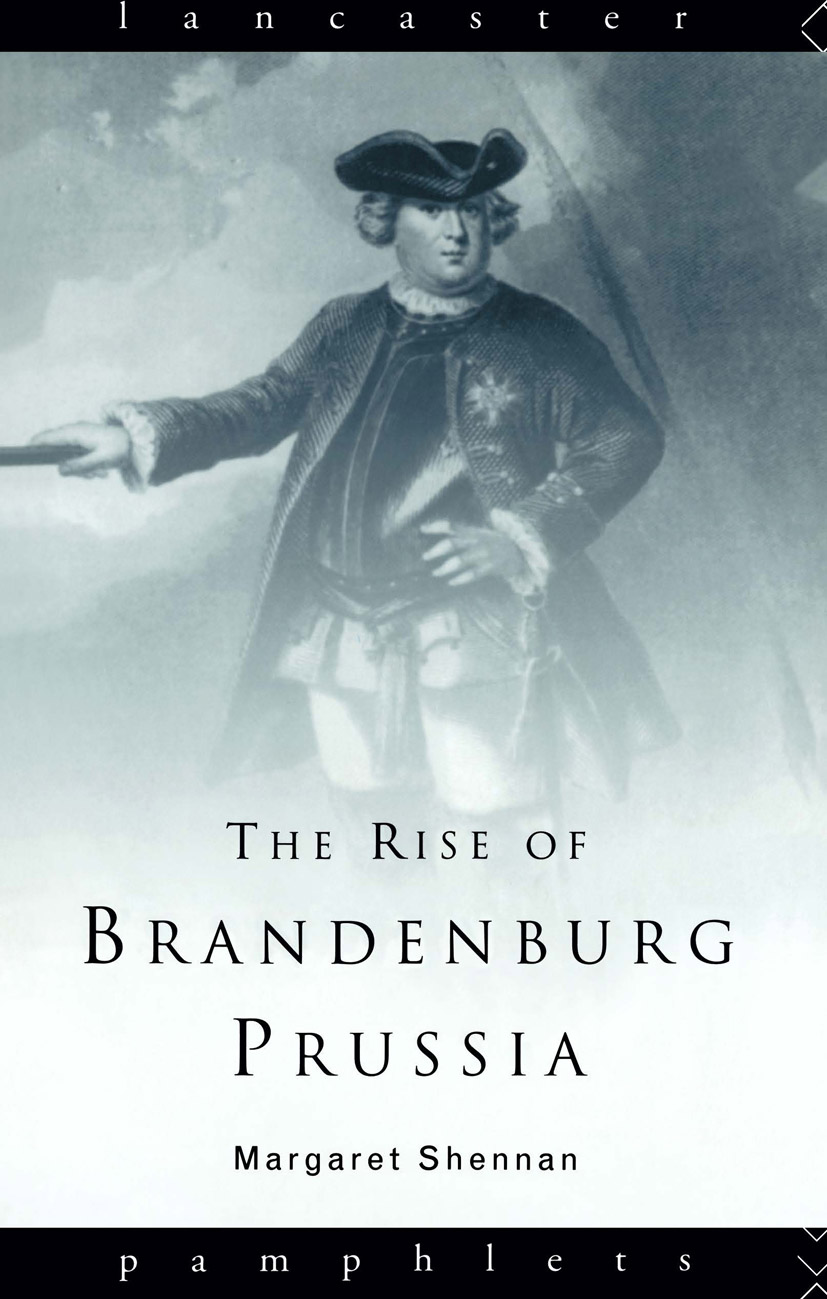 The Rise of Brandenburg-Prussia book cover
