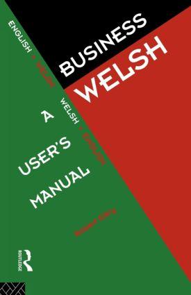Business Welsh: A User's Manual book cover