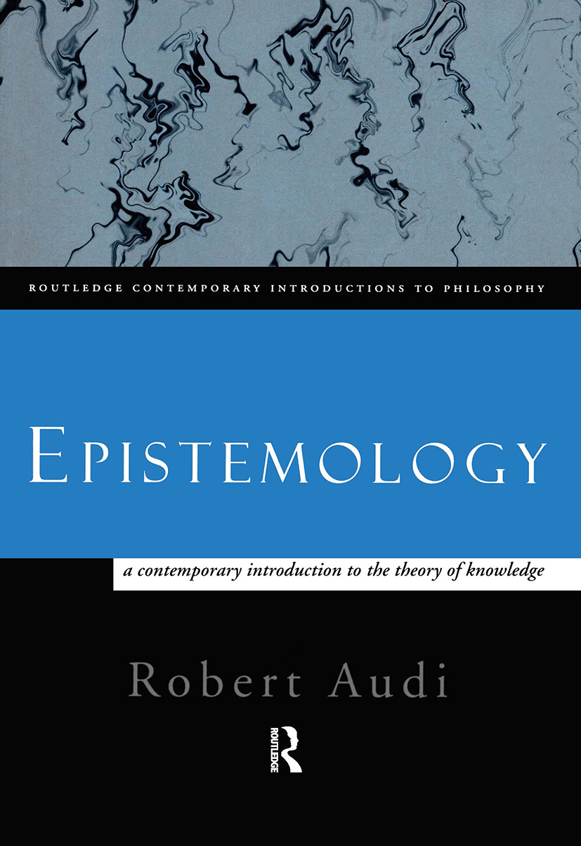 Epistemology: A Contemporary Introduction to the Theory of Knowledge (Paperback) book cover