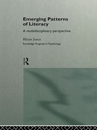 Emerging Patterns of Literacy: 1st Edition (Hardback) book cover