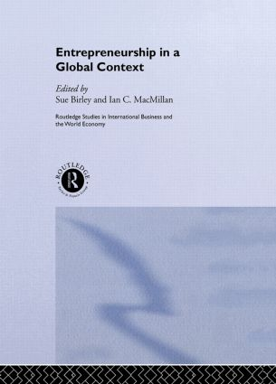Entrepreneurship in a Global Context: 1st Edition (Hardback) book cover