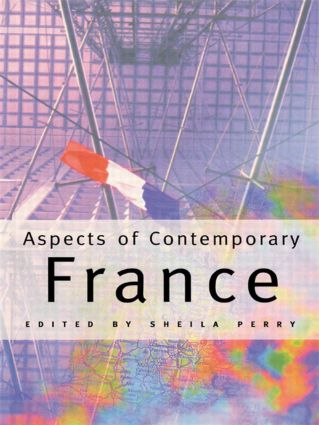 Aspects of Contemporary France: 1st Edition (Paperback) book cover