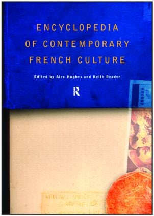 Encyclopedia of Contemporary French Culture: 1st Edition (Hardback) book cover