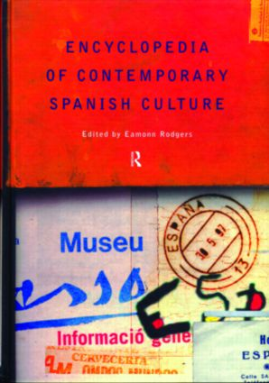 Encyclopedia of Contemporary Spanish Culture (Hardback) book cover