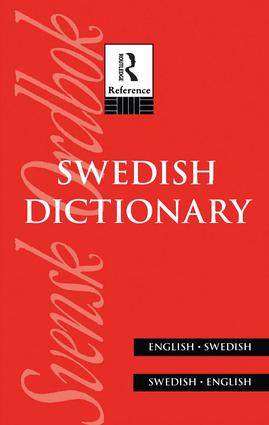 Swedish Dictionary: English/Swedish Swedish/English (Hardback) book cover