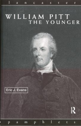 William Pitt the Younger: 1st Edition (Paperback) book cover