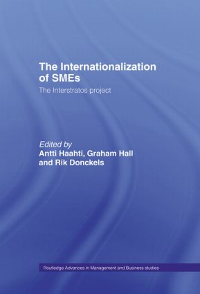 The Internationalization of Small to Medium Enterprises: The Interstratos Project, 1st Edition (Hardback) book cover