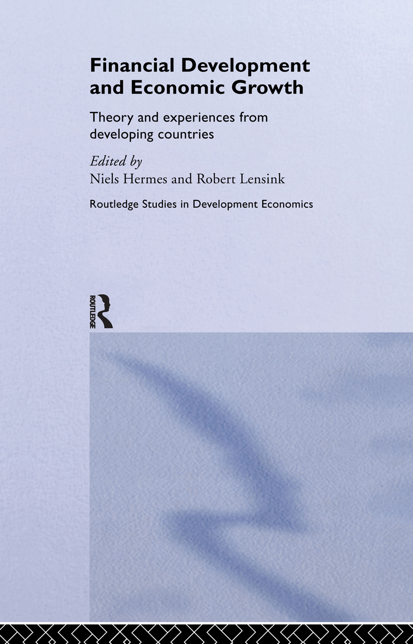 Financial Development and Economic Growth: Theory and Experiences from Developing Countries, 1st Edition (Hardback) book cover