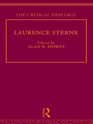 Laurence Sterne: The Critical Heritage (Hardback) book cover