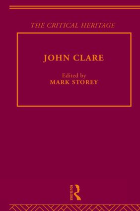 John Clare on the judgments of others