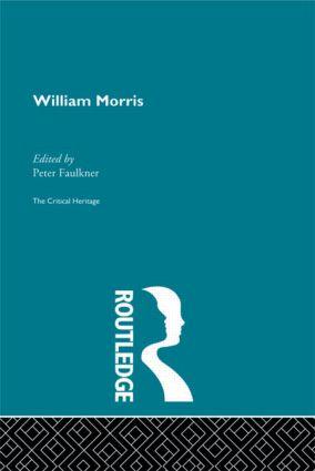 William Morris: The Critical Heritage (Hardback) book cover