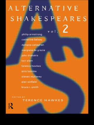 Alternative Shakespeares: Volume 2 (Paperback) book cover