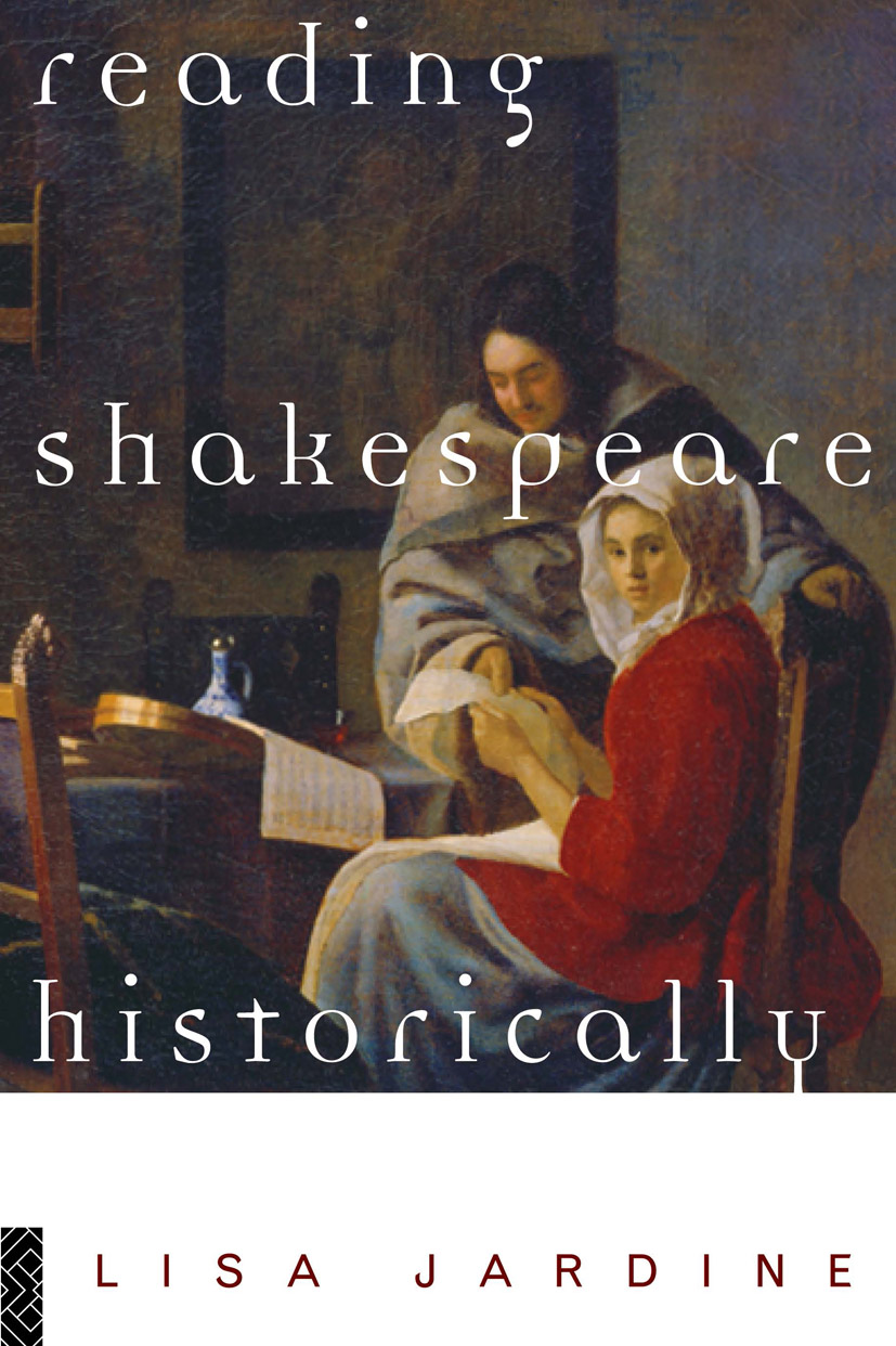 Reading Shakespeare Historically