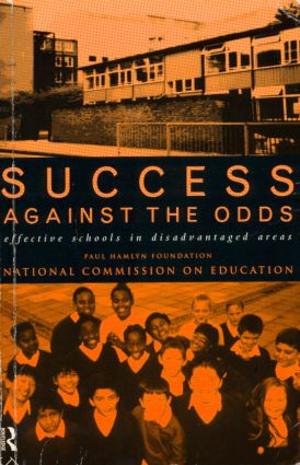 Success Against The Odds: Effective Schools in Disadvantaged Areas (Paperback) book cover