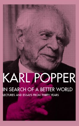 In Search of a Better World: Lectures and Essays from Thirty Years (Paperback) book cover