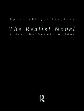 The Realist Novel: 1st Edition (Paperback) book cover