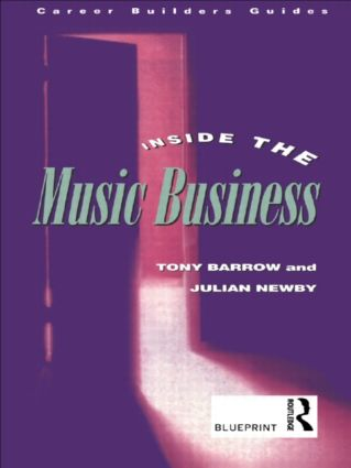 Inside the Music Business: 1st Edition (Paperback) book cover